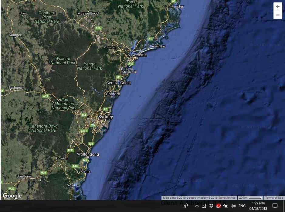 Sea level with Circle